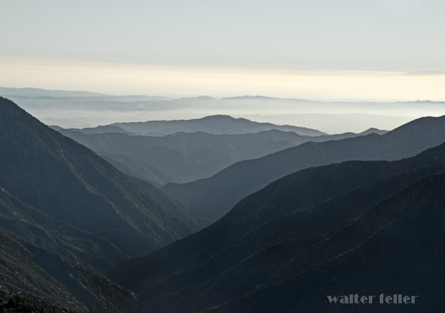 Inspiration Point, Blue Ridge Summit, Highway 2 - San Gabriel Mountains National Monument